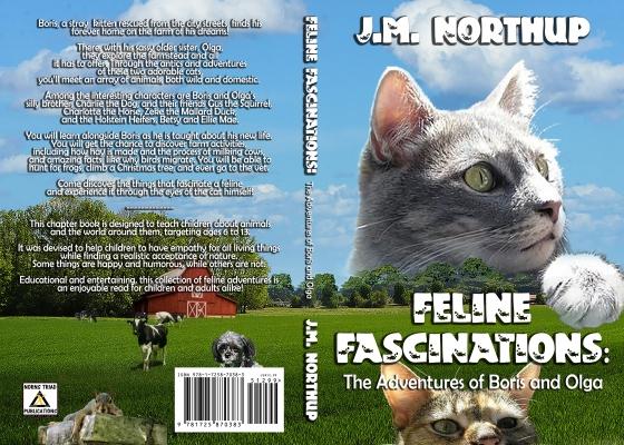 FELINE paperback FINAL Olga Medium & Charlie 2018